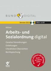 Arbeits- und Sozialordnung digital