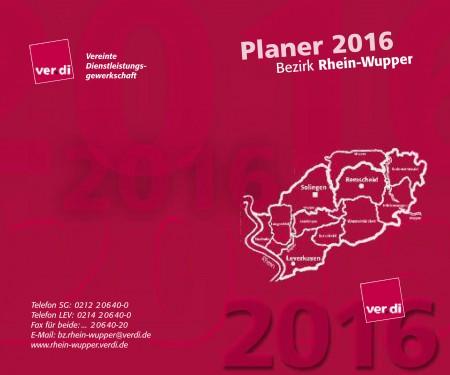 Taschenkalender Rhein-Wupper