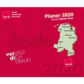 Taschenkalender Weser-Ems