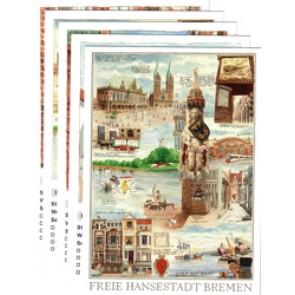 Postkartenset: Bremen