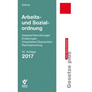 Arbeits- und Sozialordnung 2017