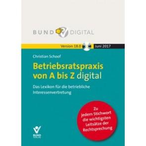 Betriebsratspraxis von A bis Z digital