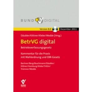 BetrVG - Betriebsverfassungsgesetz mit Wahlordnung CD-ROM