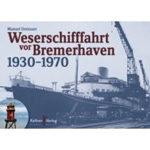 Weserschifffahrt vor Bremerhaven